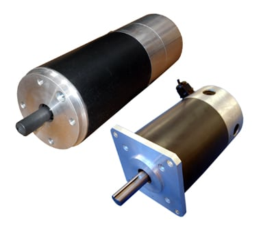 BDS series brushed DC servo motors