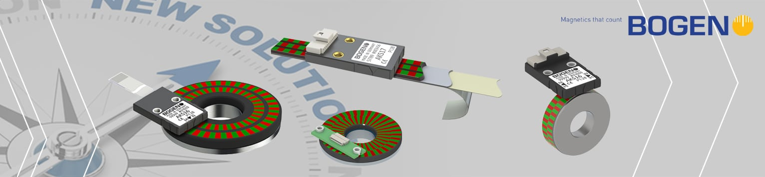 Bogen magnetic encoder page background