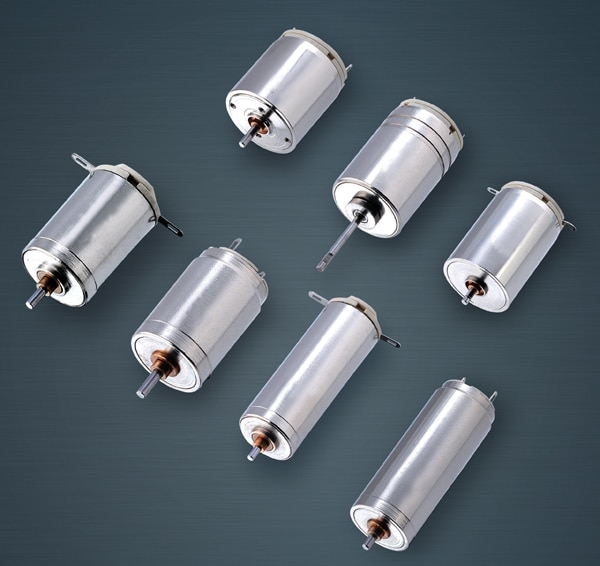 dc coreless motors
