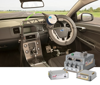 driverless car control by using elmo servo drives