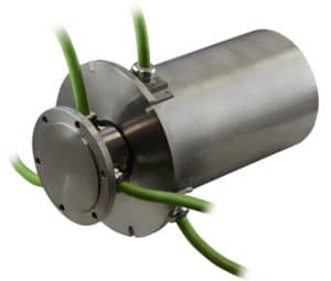 SVTSA slip ring with Schneider cable