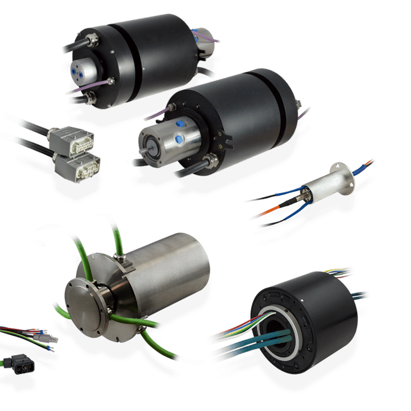 custom slip rings group servotecnica