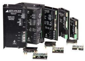 high power density servo drive AxCent from amc