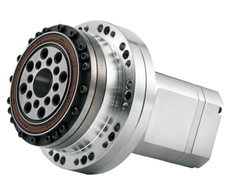 integrated harmonic gear motor MAS (with solid-shaft)
