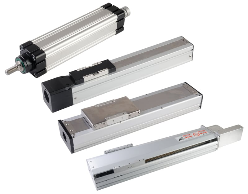 industrial linear actuators family
