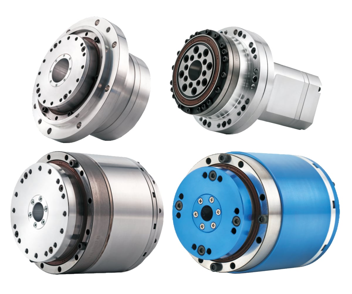 Torque-motor-with-integrated-harmonic-gearbox